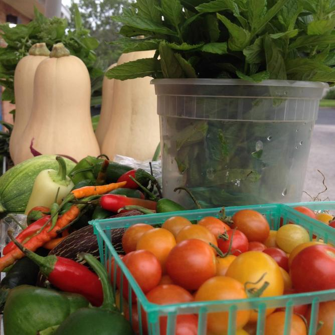 Farm Stand Fresh Veggies | Courtesy HOPE Farmers' Market