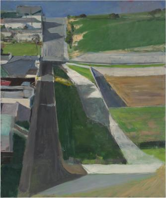 Cityscape I | Courtesy The Estate of Richard Diebenkorn