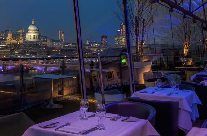 The Top 10 London Restaurants With A View