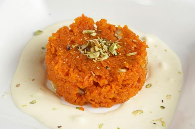 Carrot Halwa | © Michael J. Colella | Courtesy of Rasika