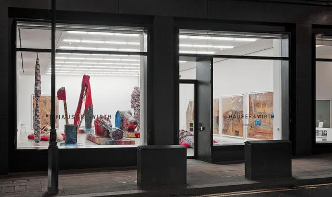 Sterling Ruby at Hauser and Wirth