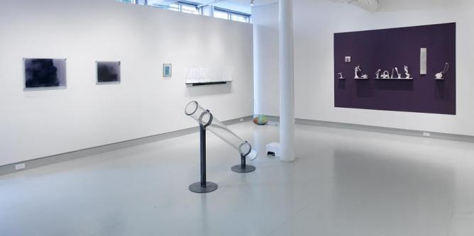 "Deb Todd Wheeler, ""…in the atmospheres"" gallery installation, Miller Yezerski Gallery   Courtesy Deb Todd Wheeler & Miller Yezerski Gallery"