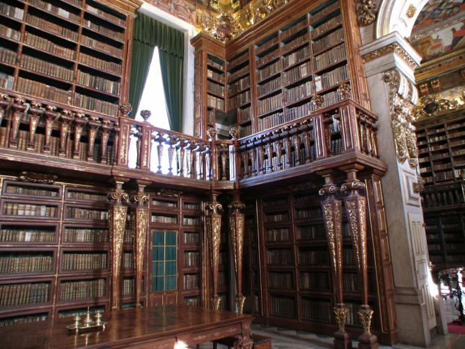 Coimbra University Library | © Wordman1/Flickr