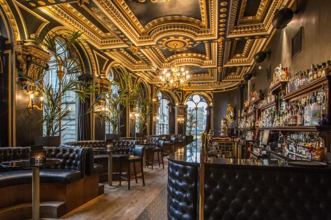 The 10 coolest cocktail bars in edinburgh for Best private dining rooms edinburgh