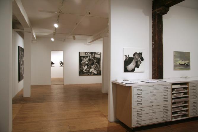 Hugo Crosthwaite, 'Escape Rates Escaparates', Installation View at Pierogi | Courtesy the Artist and Gallery