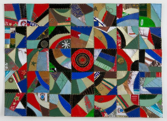 Crazy Quilt' by Robin Tost | Image Courtesty the Artist and Art 101 Gallery