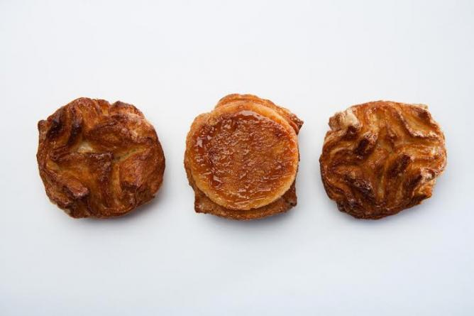 Kouing Amon pastries   Courtesy Les Madeleine's