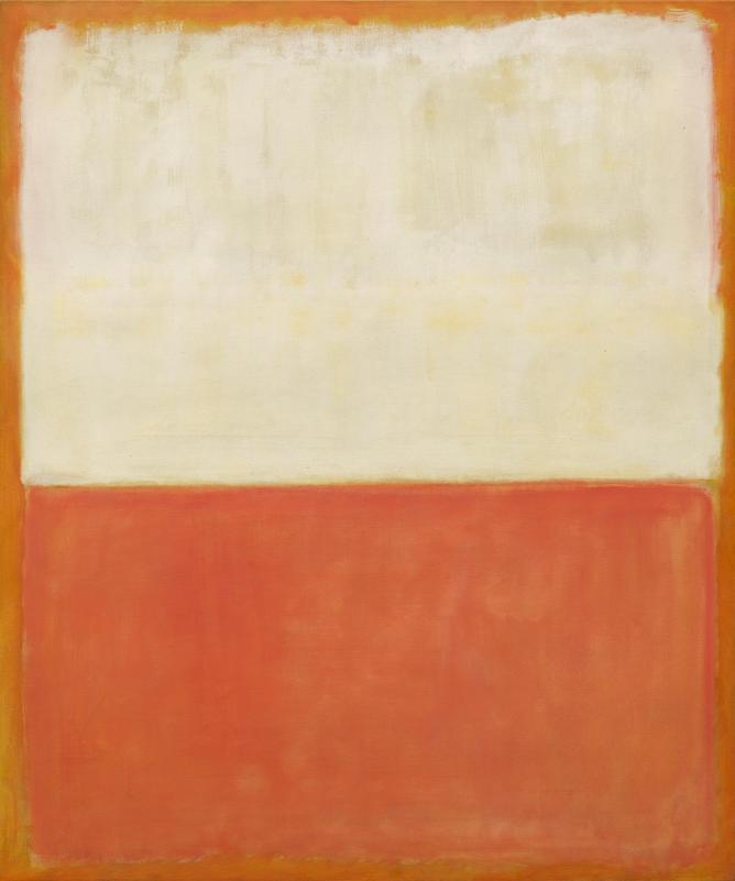 Mark Rothko, Untitled, 1955, Oil on canvas, 151 x 126,4 cm | Courtesy Gemeentemuseum den Haag
