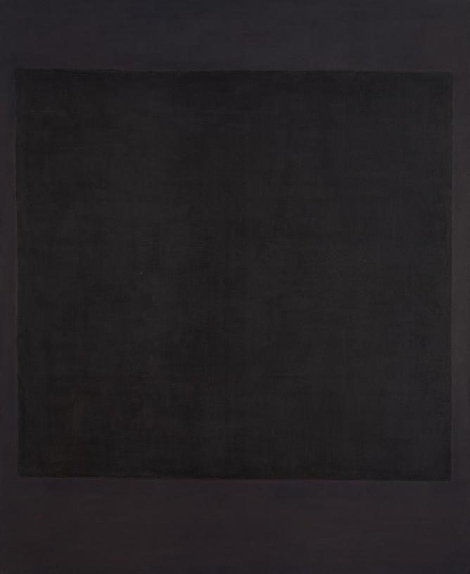 Mark Rothko, No. 7, 1964, Mixed media on canvas, 236,4 x 193,6 cm | Courtesy Gemeentemuseum den Haag