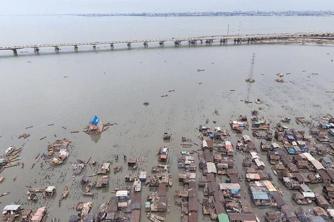 Floating Slum, Nigeria