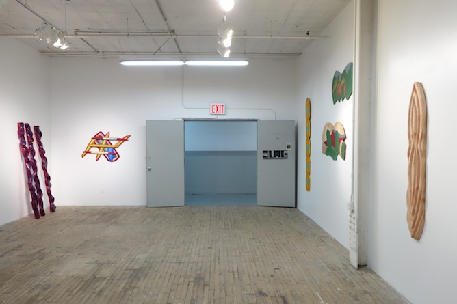 Installation view of Dumit Gorzo Exhibition 'NO TITLE' | Image Courtesy of Slag Gallery