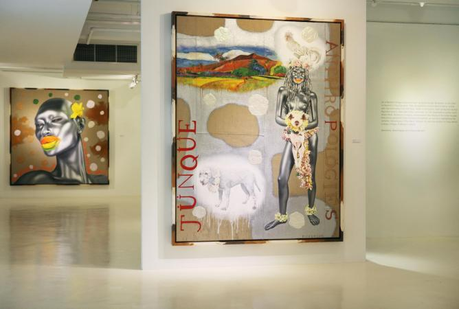 Ashley Bickerton, Junk Anthropologies, Gajah Gallery, 2014   Courtesy Gajah Gallery & Ashley Bickerton