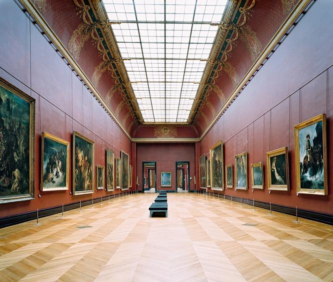 Höfer - Musée du Louvre Paris XXI 2005 | Courtesy of Matthew Liu Fine Arts