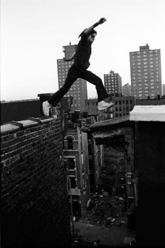 Ralph jumps
