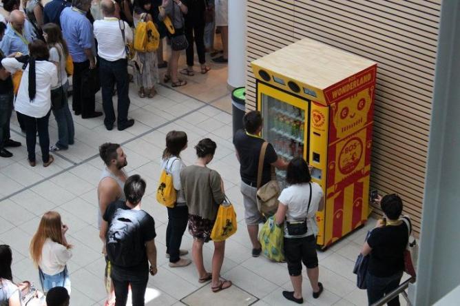 BOS Vending Machine | Courtesy Thingking