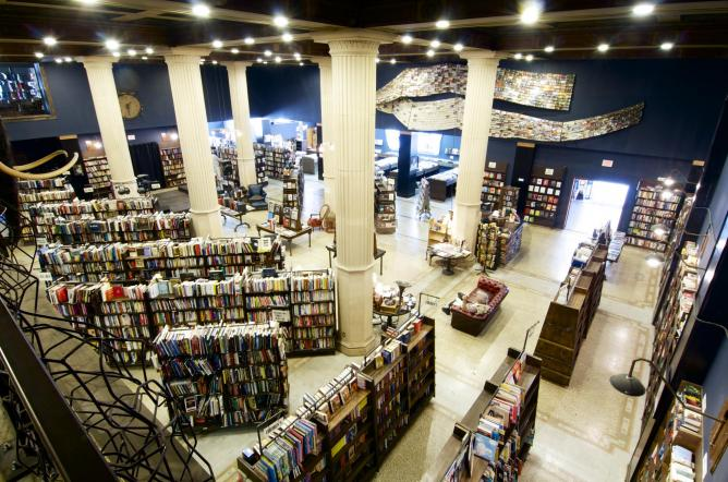 interior shot, Courtesy of The Last Bookstore | © Kim Garcia