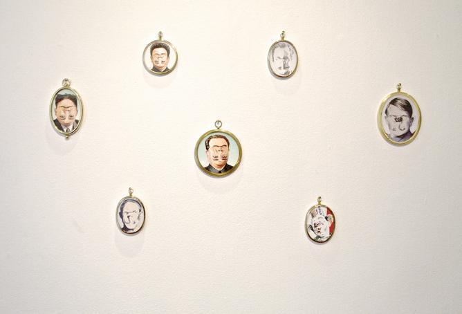 Psycho, Darren Coffield.   Courtesy of Residence Gallery