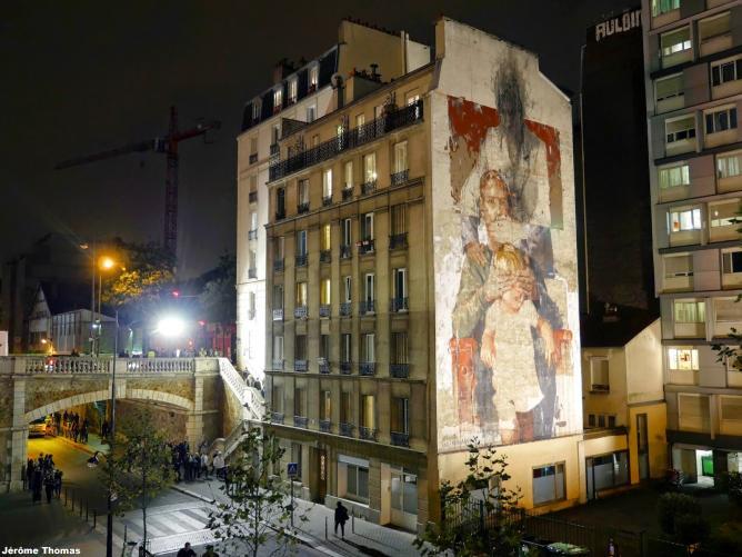 'Les Trois Ages', Nuit Blanche Festival, Paris, France, 2014 | © JérômeThomas/ADAGP