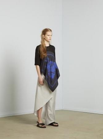 A model wears pieces from Christopher Esber's Resort 2015 collection | Courtesy Christopher Esber