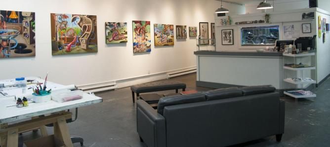 Gallery Space | Courtesy of True Love Art Gallery