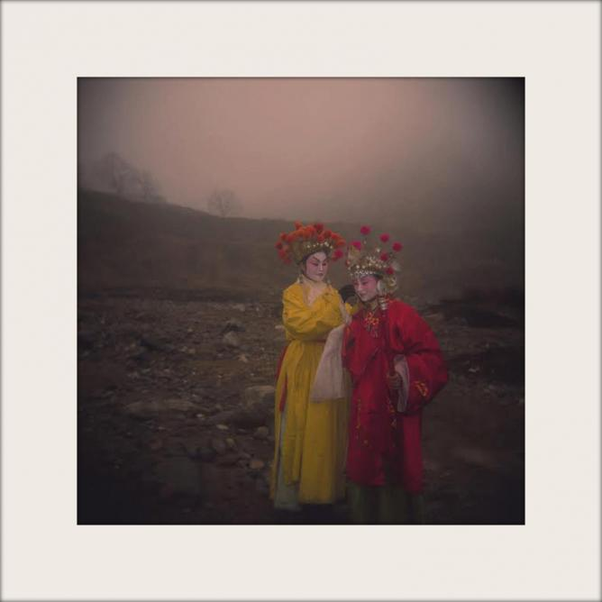 Zhang Xiao, Shanxi No. 2, 2007, Pigment Print, 40 x 40 cm / 80 x 80 cm, 12 + 2AP / 6 + 2 AP | Courtesy the artist and Pékin Fine Arts