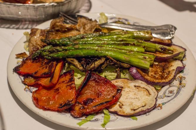 Verduras a la Plancha | Courtesy of Leyla Kazim