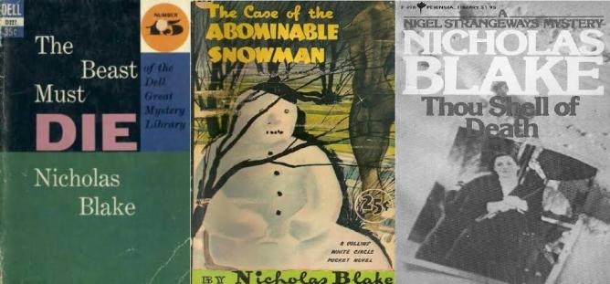 The Beast Must Die (1938), The Case of the Abominable Snowman (1941), Thou Shell of Death (1936) |© Dell Publishing, Collins White Circle Pocket novel, Perennial Library