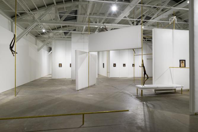 Markus Schinwald Exhibition   Courtesy of CCA Wattis Institute
