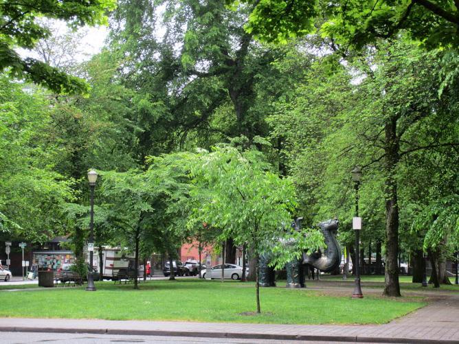 North Park Blocks