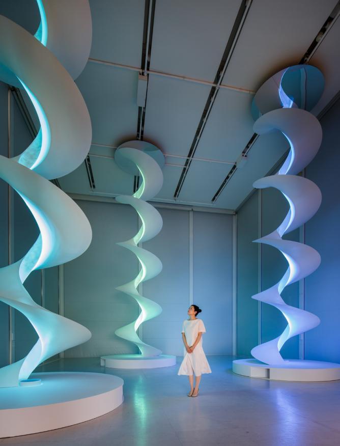 Mariko Mori, 'Infinite Energy', 2013. Work with the support of Espace Louis Vuitton Tokyo   © Louis Vuitton / Jérémie Souteyrat