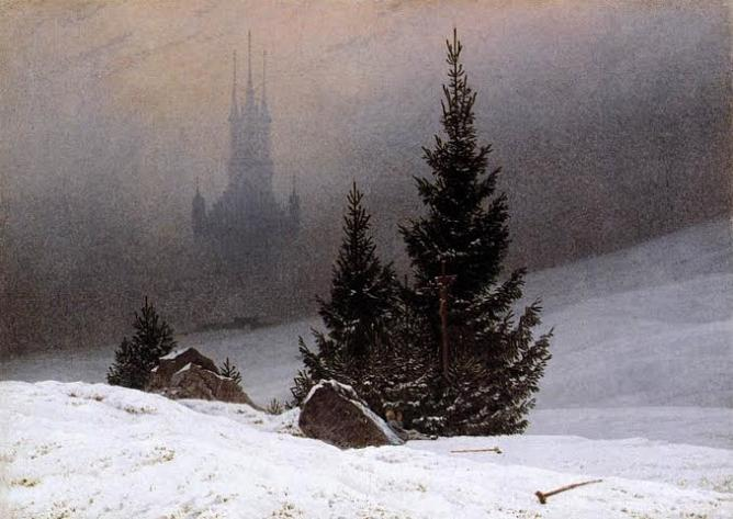 Winter Landscape by Caspar David Friedrich | © WikiCommons