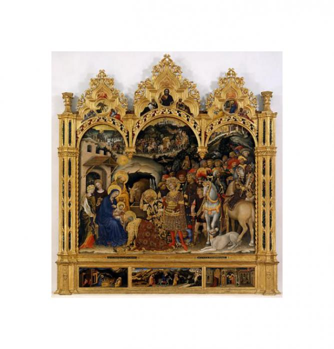 The Adoration of the Magi by Gentile da Fabriano | © WikiCommons