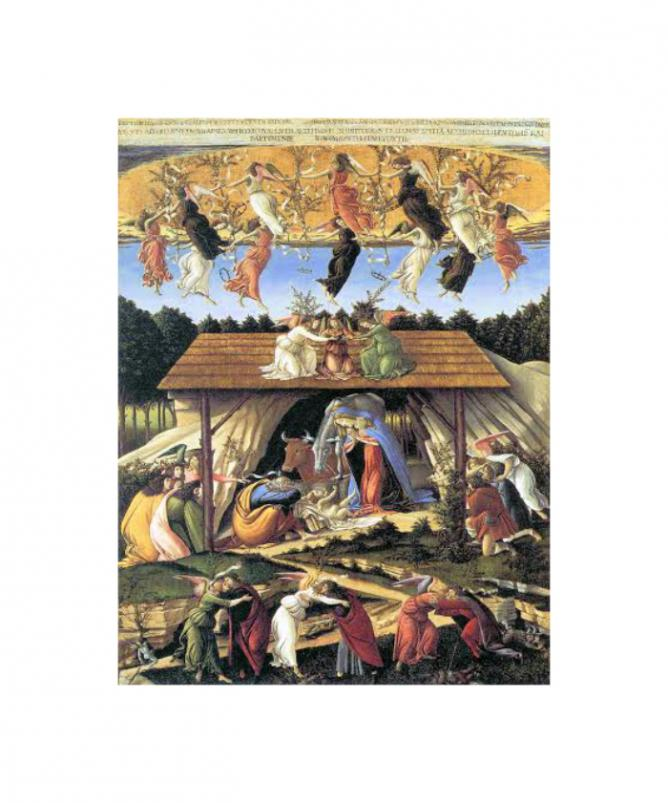 The Mystical Nativity by Sandro Botticelli | © WikiCommons