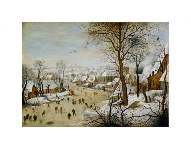 Winter Landscape with Bird Trap, Pieter Brueghel the Younger |© WikiCommons