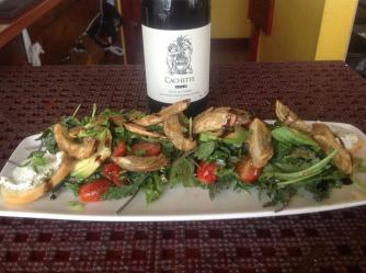 Artichoke salad with wine | Courtesy of Z Bistro