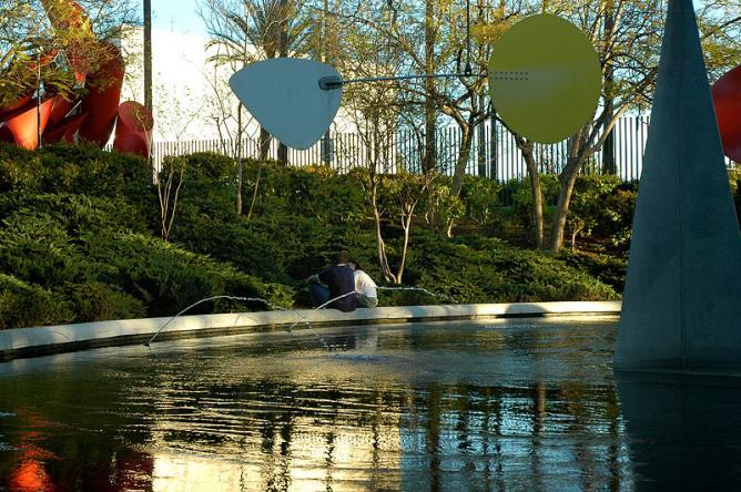 LACMA View Of Sculpture Garden   U0026#xA9; WikiCommons
