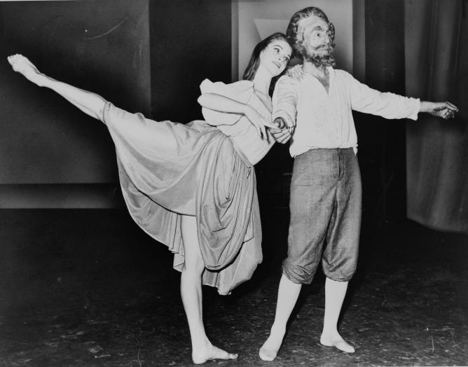 Suzanne Farrell, Dance