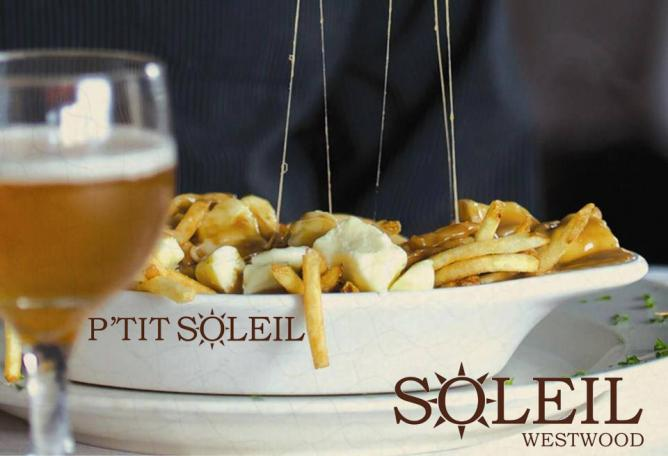 Beer&poutine | Courtesy of Soleil
