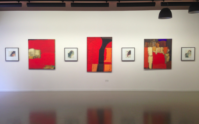 Installation view, Vyacheslav Mikhailov| Courtesy of ERARTA