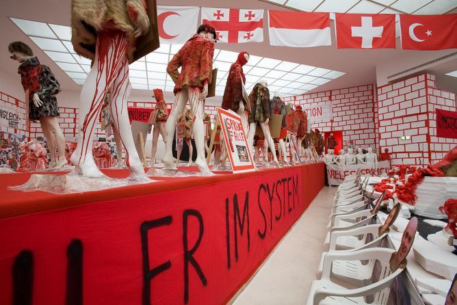 "Thomas Hirschhorn,""Das Auge"", Secession Vienna, Austria, 2008 | © Jorge Royan/WikiCommons"