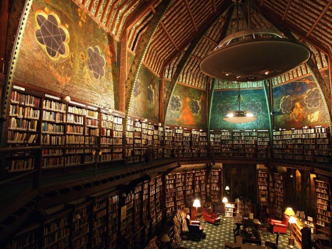 Interior Of Oxford Union