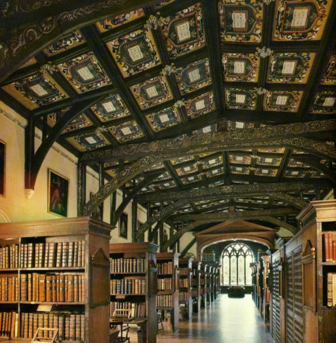 Duke Humfrey's Library, the oldest part of the Bodleian Library, Oxford © annetgent/Wikicommons