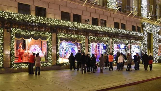 New York City's Most Glamorous Christmas Windows