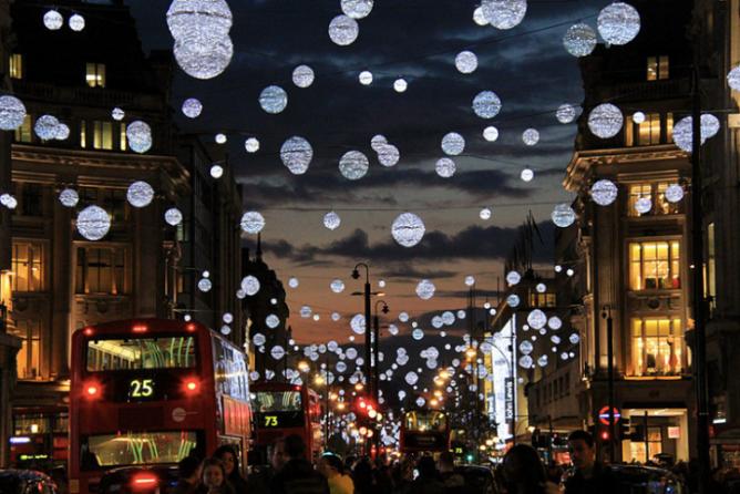 Enlightone: Christmas In The Capital: Top 10 London Lights