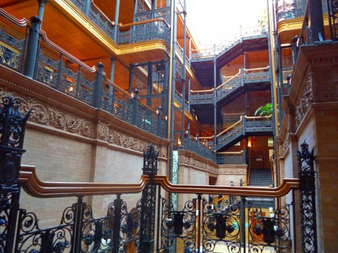 Bradbury Building | © Harry Hawkins