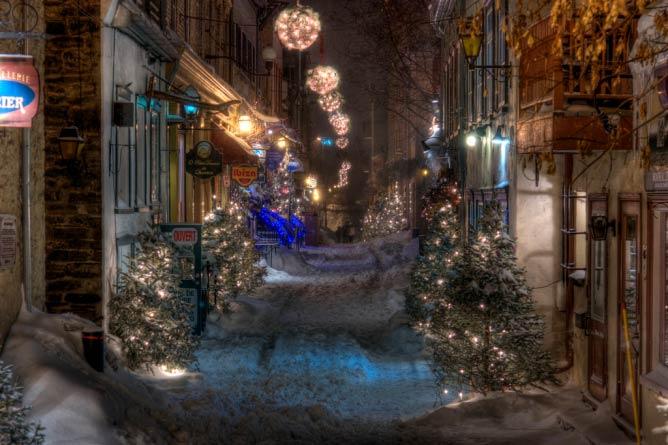 Rue du Petit Champlain, Québec City