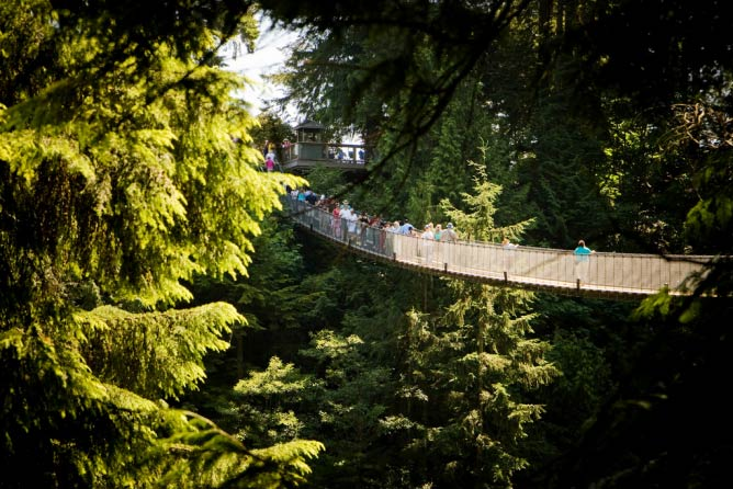 Capilano Suspension Bridge Park, British Columbia