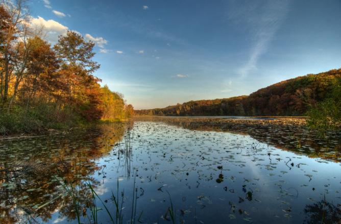 Jensen Lake, Eagan   © Kent Landerholm/Flickr