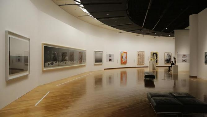 """Installation view of """"Guess What? Hardcore Contemporary Art's Truly a World Treasure - Selected Works from Yageo Foundation Collection"""" 
