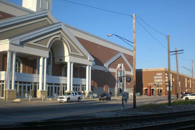 First Baptist Church, Hammond | © American Eagle/WikiCommons